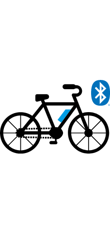 Turn on the power of the bicycle you want to connect and enable the Bluetooth LE connection.
