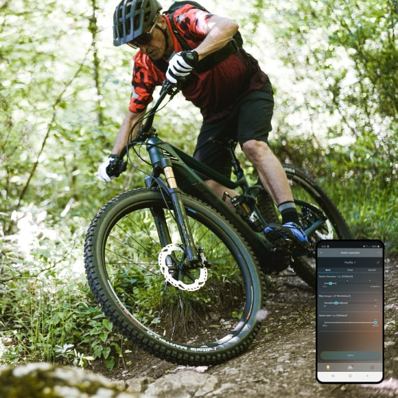 Maximize the trail ride with customized settings in your own image.