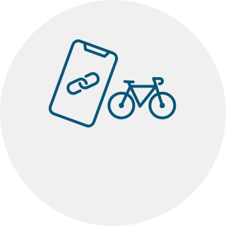APP AND YOUR BIKE CONNECT.
