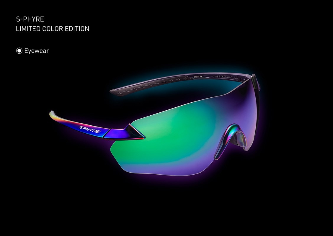 "S-PHYRE LIMITED COLOR EDITION The ""Aurora""Eyewear"