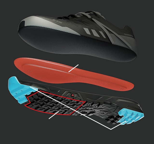 E-BIKE TOURING SHOES