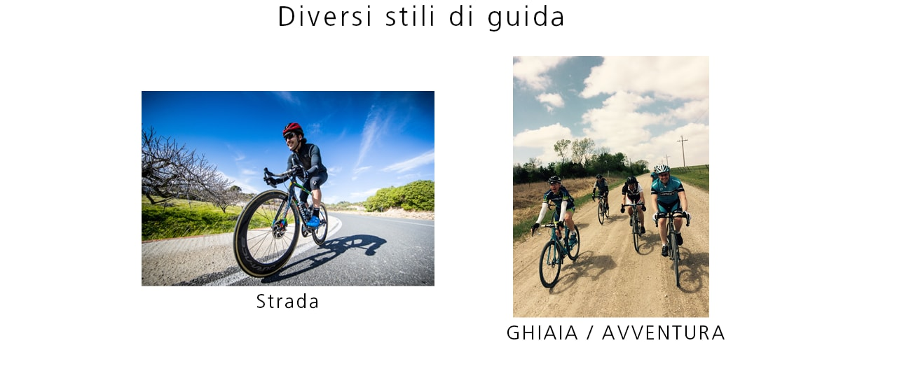 Diverse Riding Styles