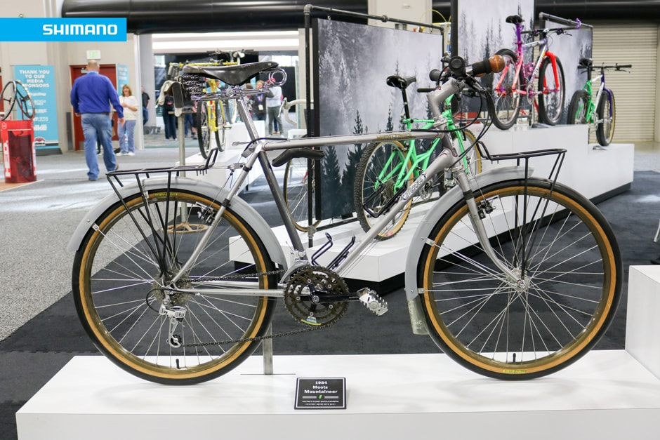 Blast from the Past - 1984 Moots Mountaineer | SHIMANO