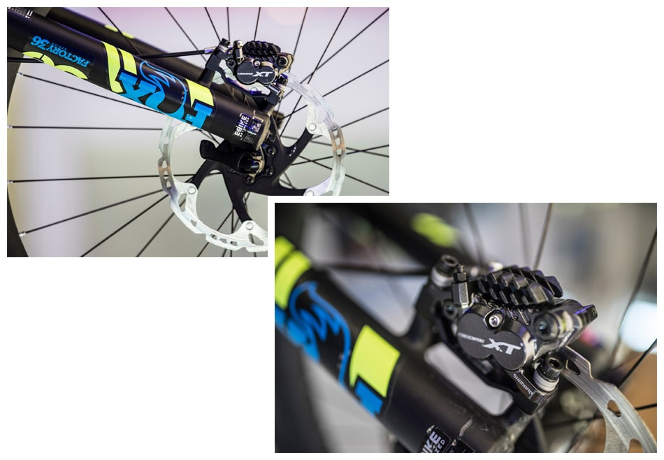 NEW DEORE XT 165MM CRANKS AND 4-PISTON BRAKES | SHIMANO ...
