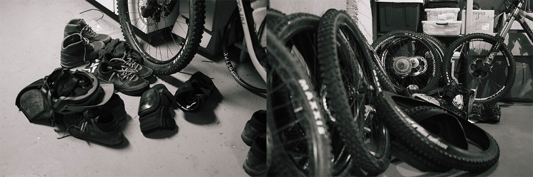 Shoes and tires