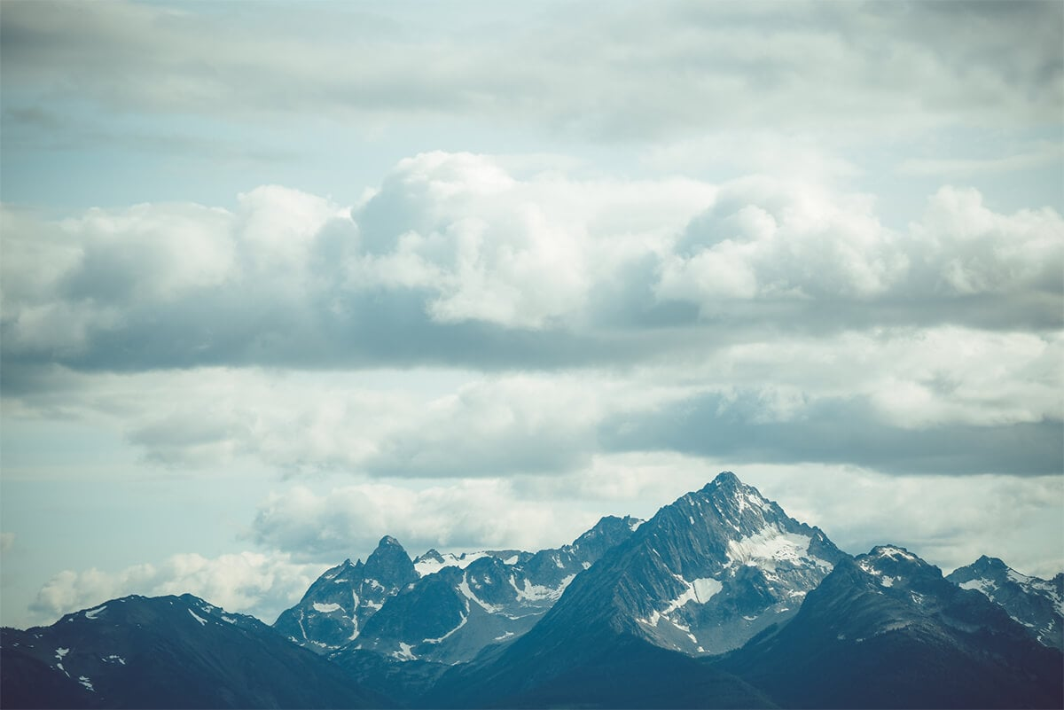 British Columbia Mountain Peaks
