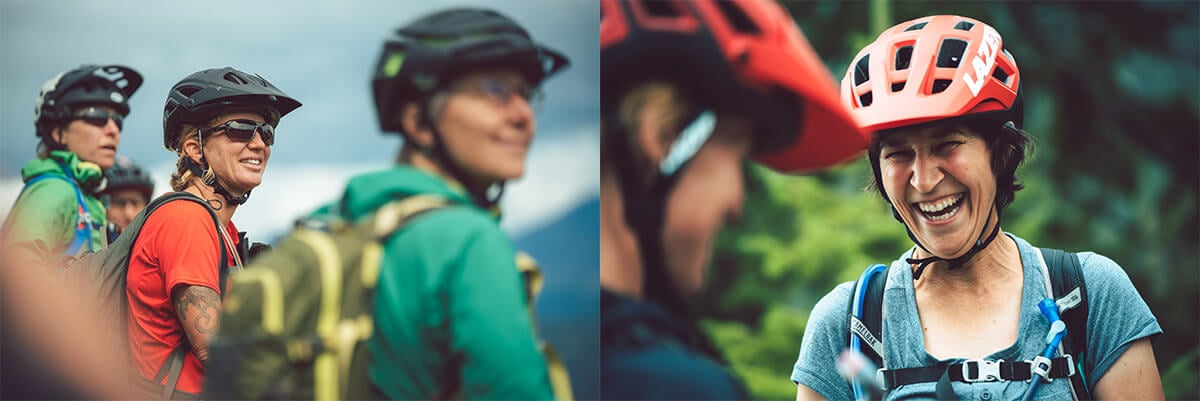 Women Mountain Biking British Columbia