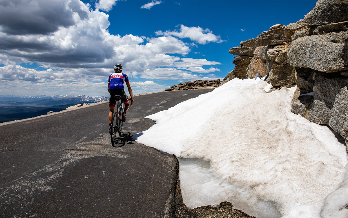 Road Cycling Mount Evans