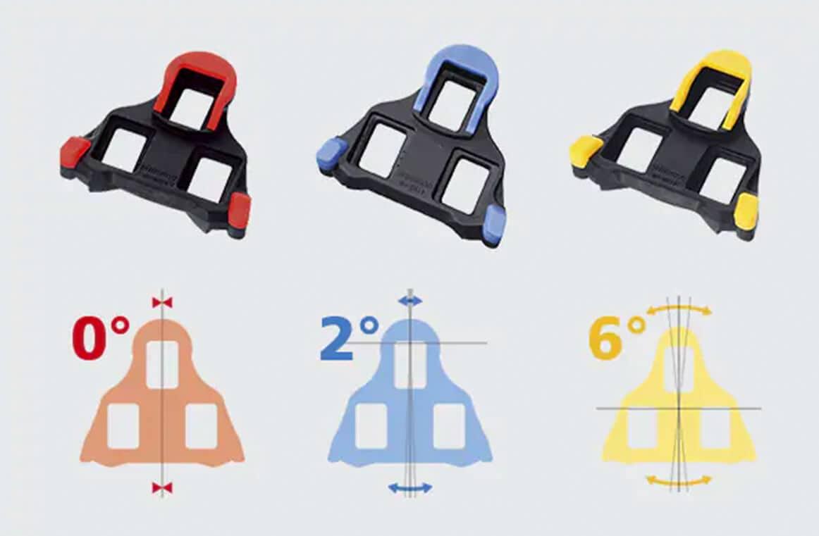 Cleat Set Float SPD-SL Road Bike Pedal Cleats For Shimano SM-SH10 SM-SH11 SPD-SL