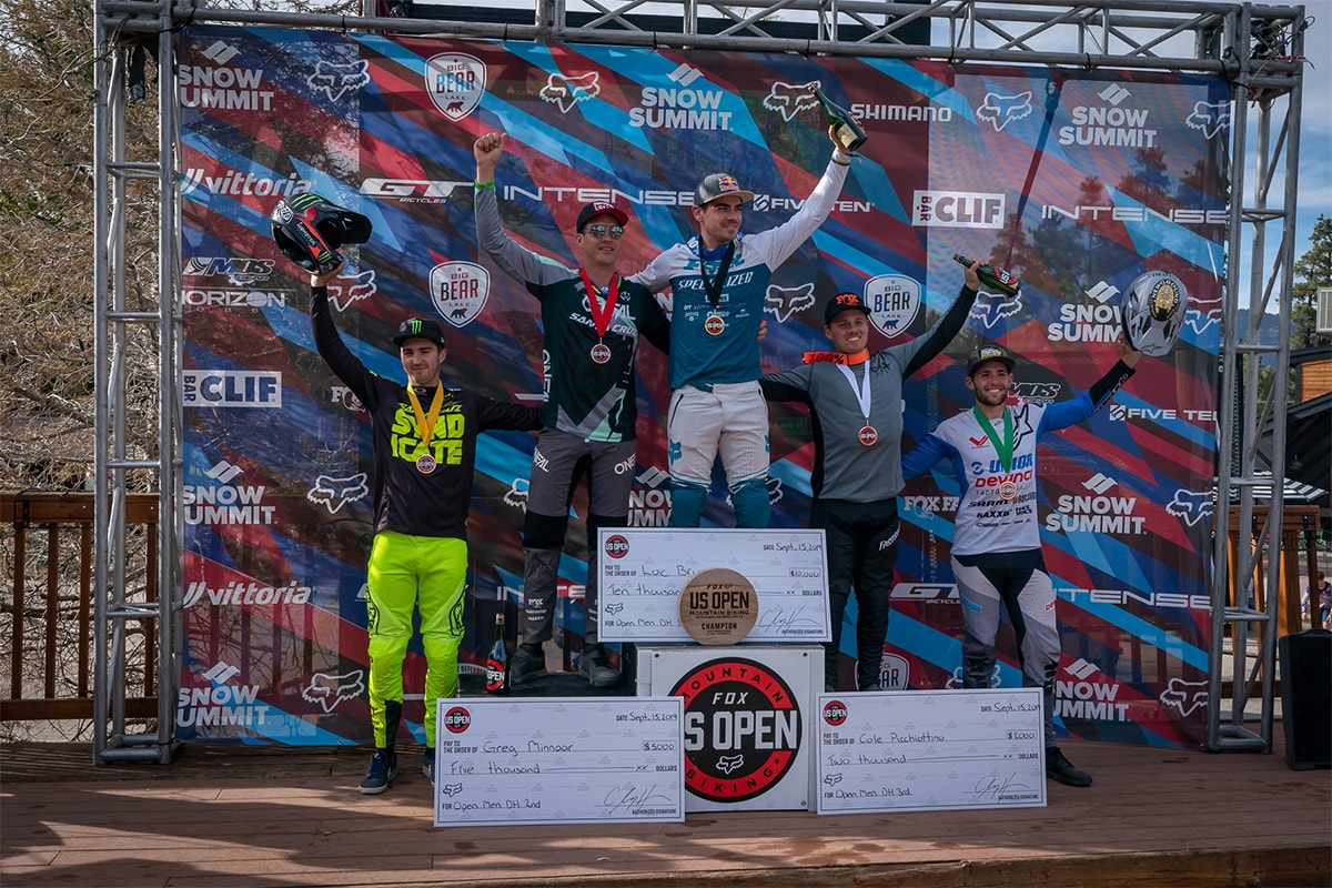 Mens Podium Fox US Open