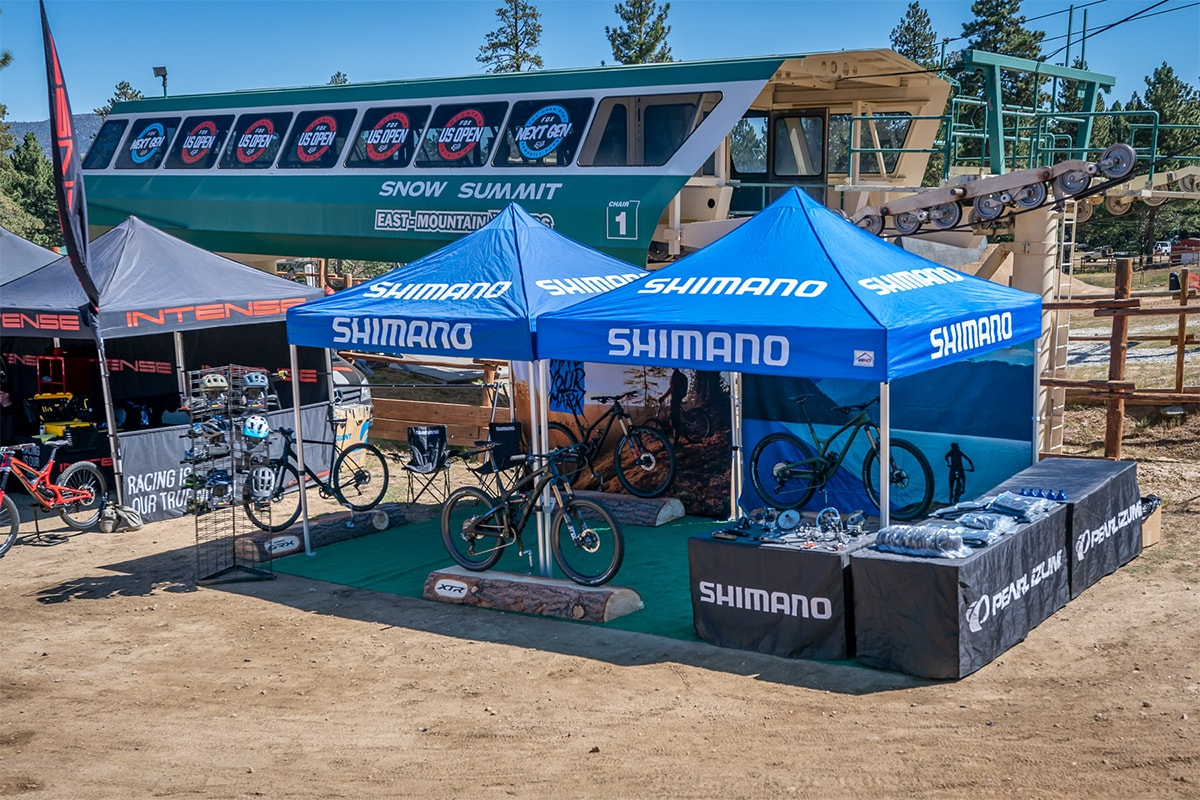 Shimano Booth Fox US Open