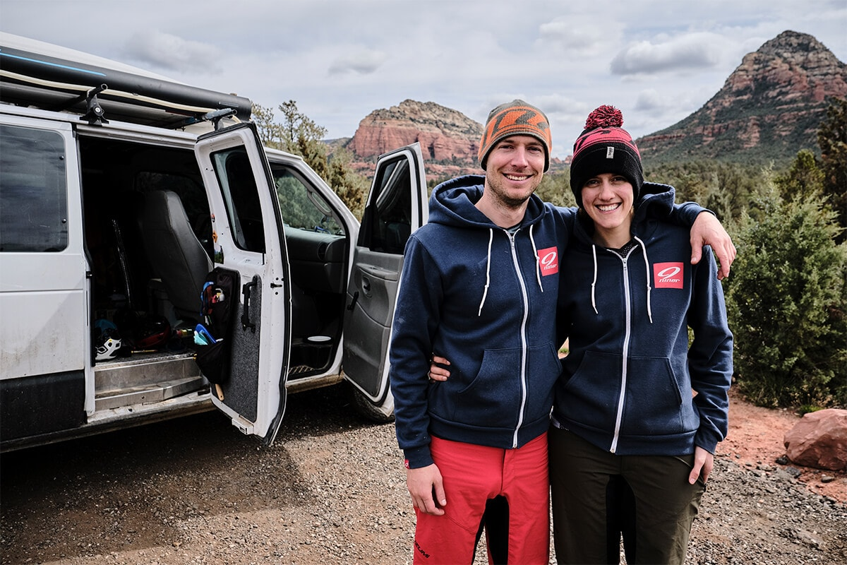 Syd & Marky at Sedona