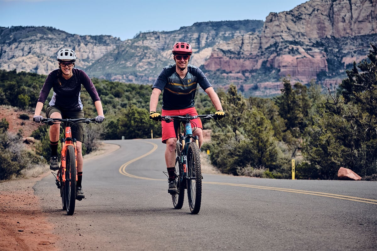 Syd & Marky riding in Sedona