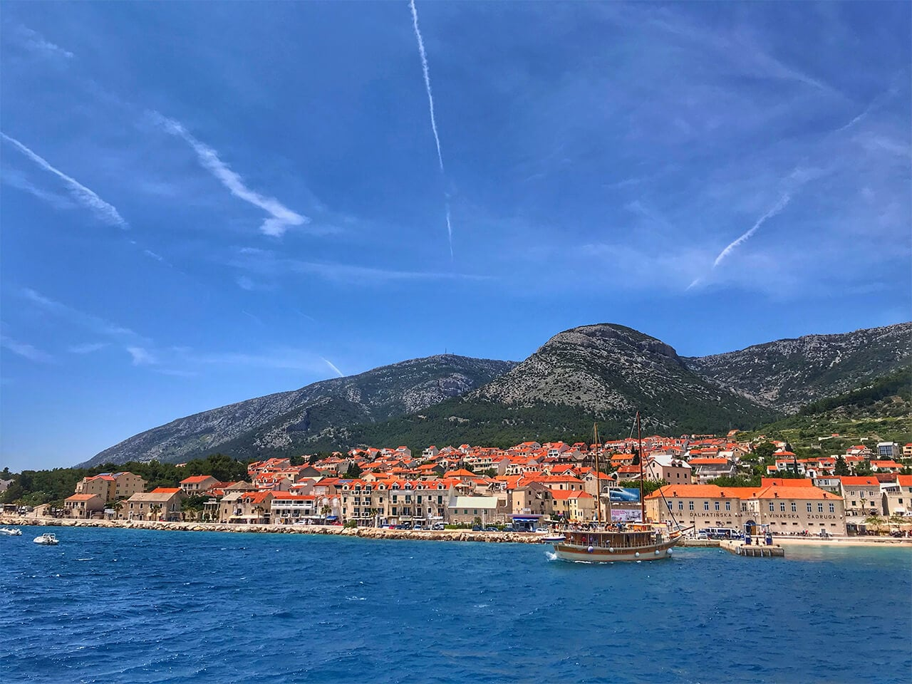 Croatian Coast line