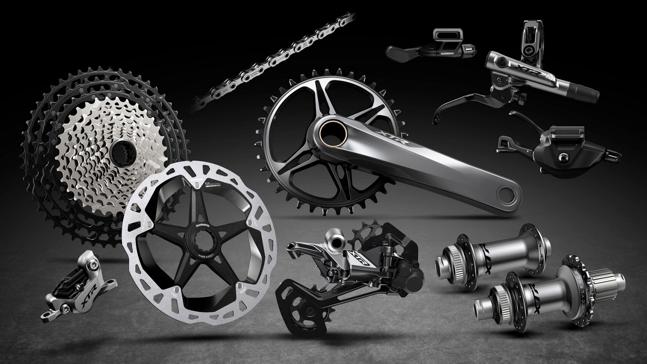71f8b5e221d New Shimano XTR M9100 Series Mountain Bike Components Debut new 12-speed,  Ultra-Efficient Drive Train and FREEHUB System