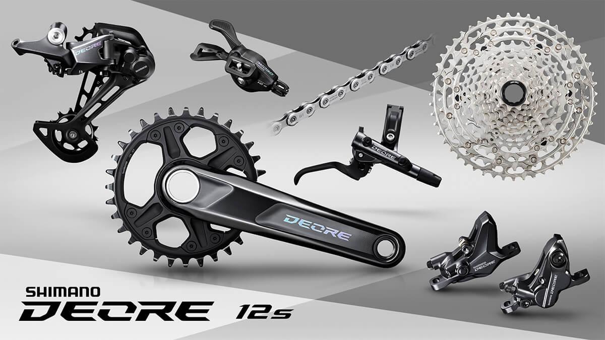 Rear gear bicycle 10 speed SGS Black rd-t6000 Shimano Deore Shadow