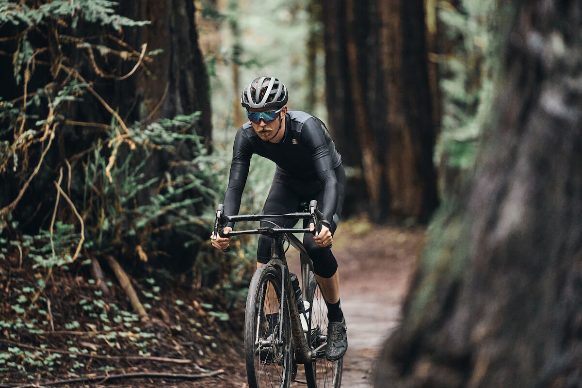 Peter Stetina Riding in the Redwoods