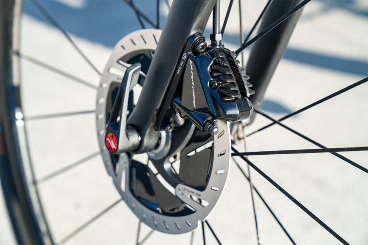 The Best Brake Performance: Shimano ICE-TECHNOLOGY Brakes