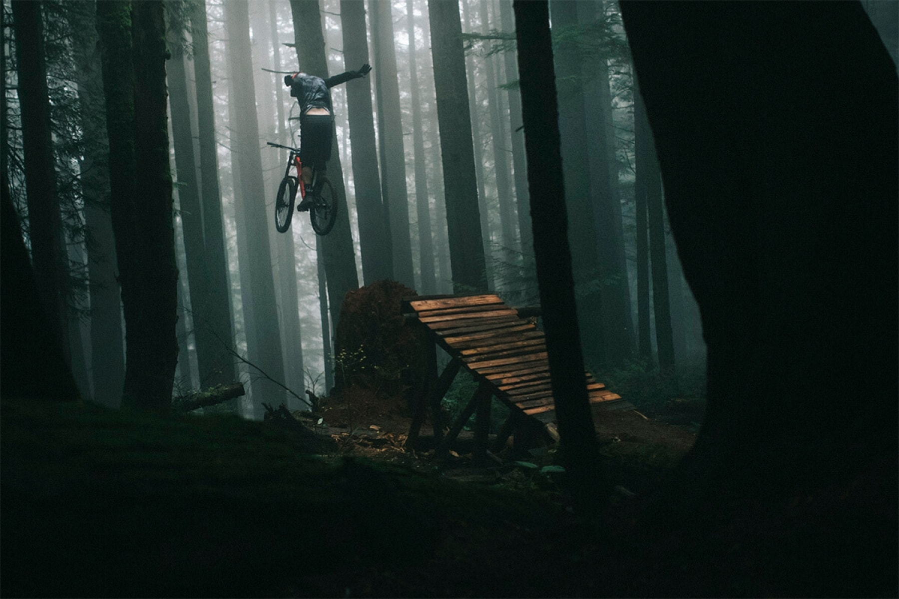 Thomas Vanderham Mountain biking