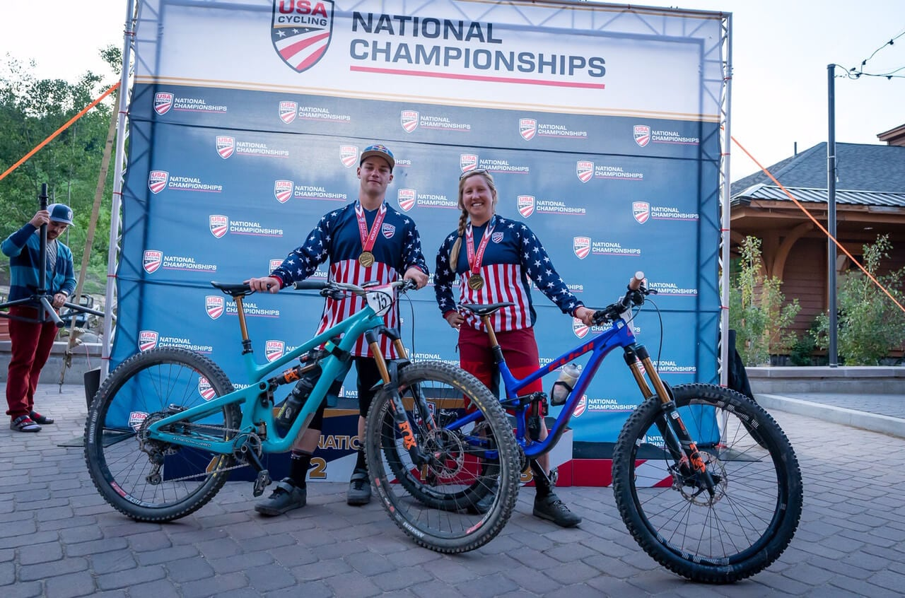 Richie Rude & Amy Morrison US National Championship MTB