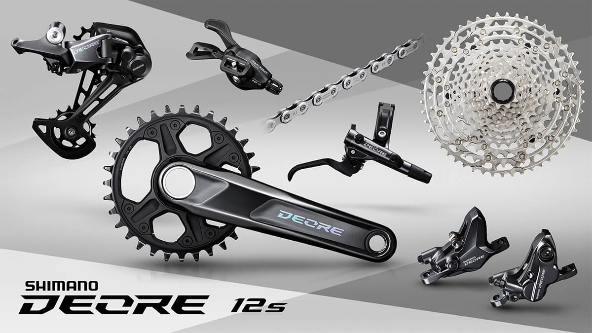 Shimano DEORE M6100 12-speed