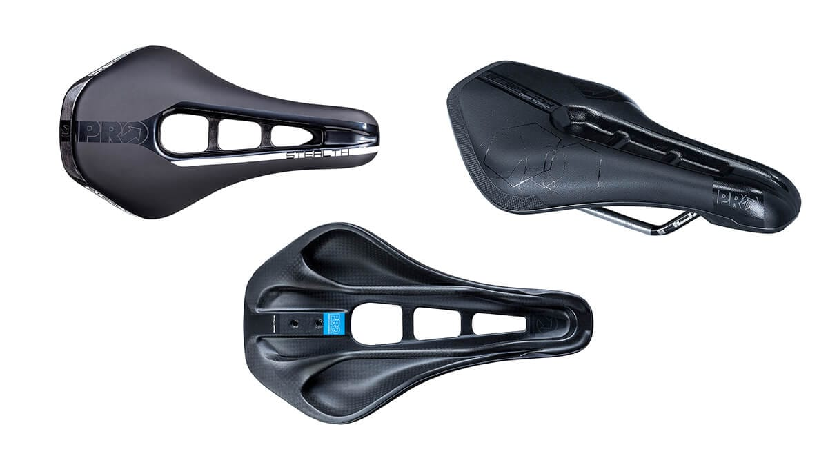 Shimano's PRO Stealth Saddles