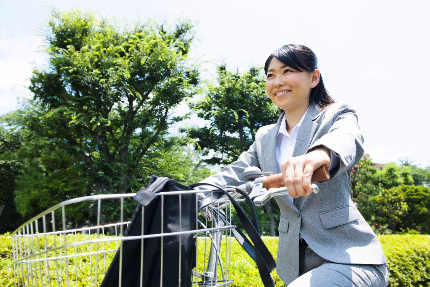 自転車通勤 距離 目安 最適 時間 限界